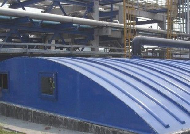 污水池膜结构加盖厂