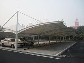 单位膜结构停车棚