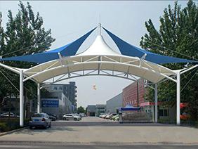 厂区膜结构出入口