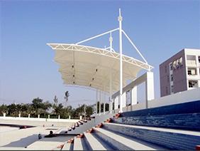 学校景观看台膜结构