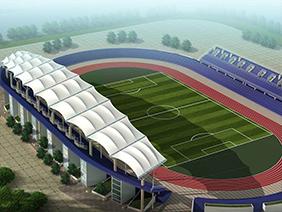 体育场景观膜结构