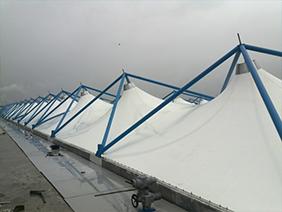 厂区污水池膜结构